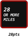 28 OR MORE MILES