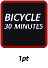 Bicycling 30 Minutes